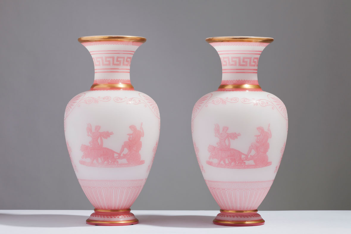 vase celimene in xml small baccarat vases