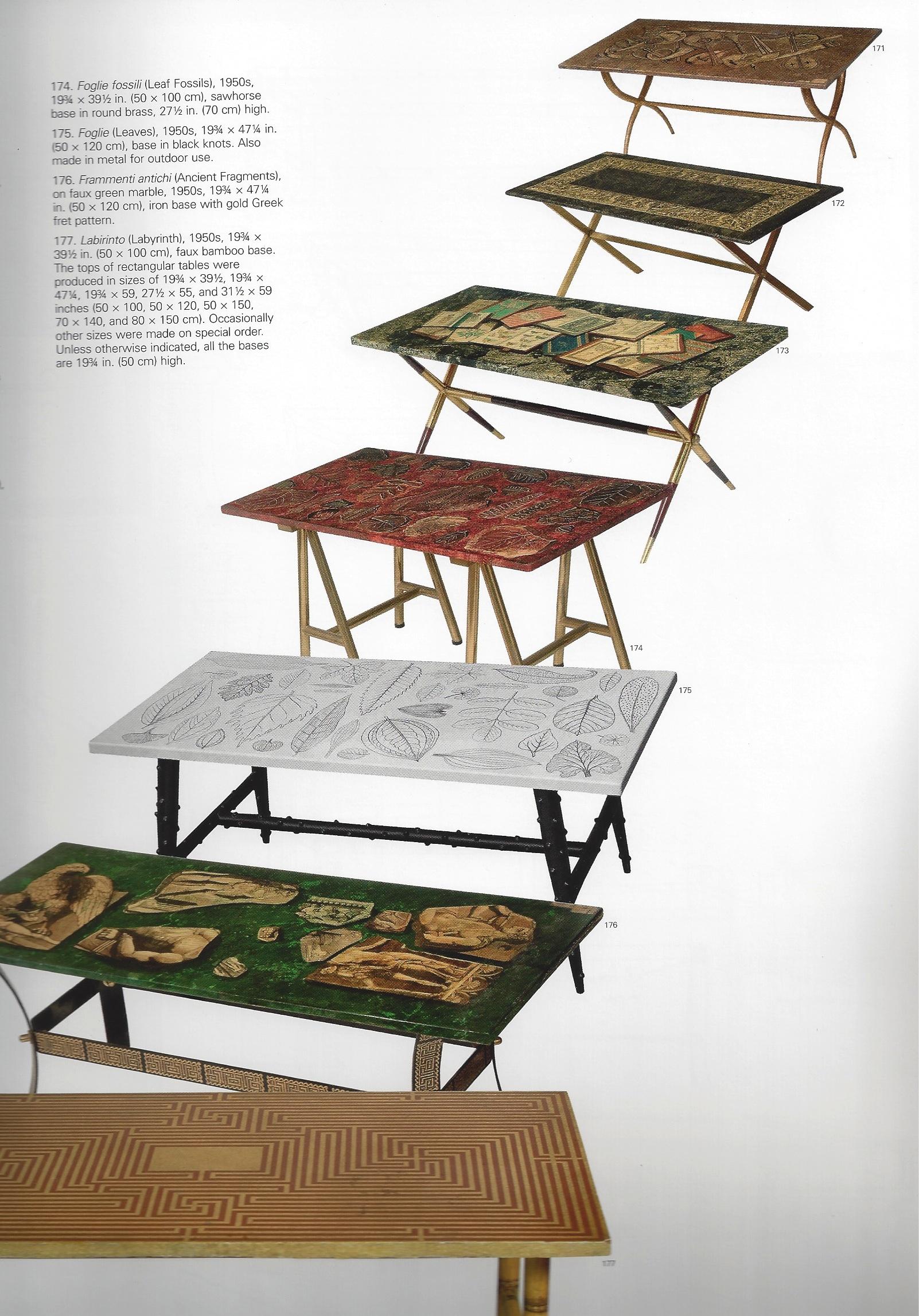 ... Fornasetti Coffee Table ...