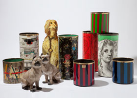 Fornasetti-Umbrella-Stands-and-Waste-Paper-Bins---Porcelain-Pugs