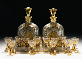 Glass-Liquer-Service-by-Galle
